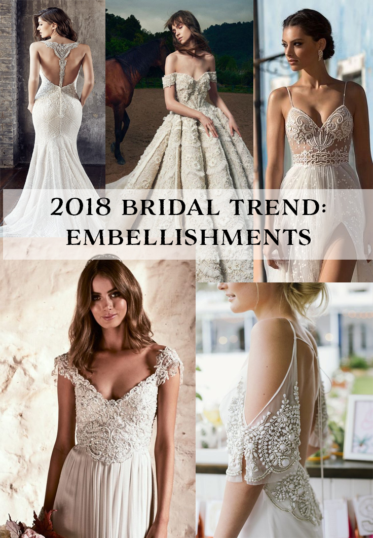 Keep up to date with the 2018 wedding trends | www.SheerEverAfter.com