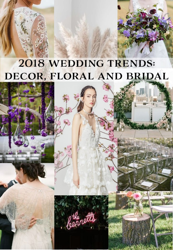 Be inspired for your 2018 wedding with the latest trends | www.SheerEverAfter.com