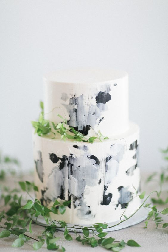 We Think You Might Adore These Gorgeous Unique Artful Wedding Cakes and 14 other Fabulous Wedding Ideas for your 2018 Wedding Celebration ..... @Sheer Ever After wedding blog. SheerEverAfter.wordpress.com