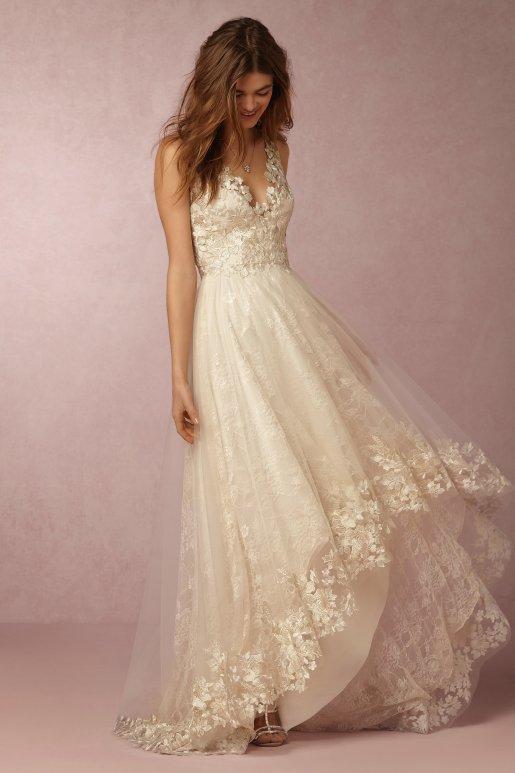 Wedding Dress by BHLDN // Alicia Vikander Wedding Ideas // SHEER EVER AFTER WEDDINGS