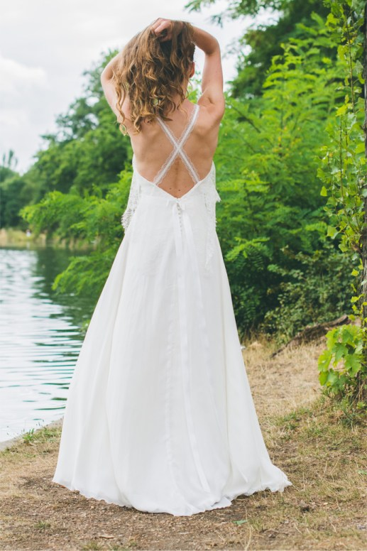 Wedding Dress by Adeline Bauwin // Alicia Vikander Wedding Ideas // SHEER EVER AFTER WEDDINGS