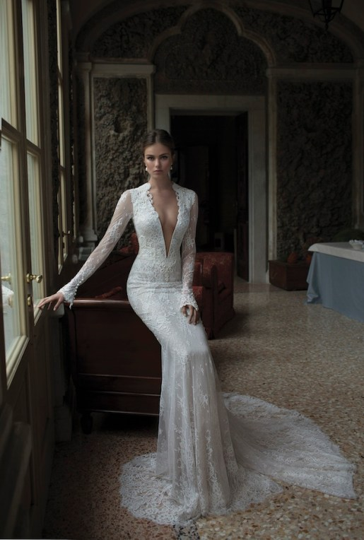 Alicia Vikander Wedding Dress Ideas // Wedding Dress by Berta // SHEER EVER AFTER WEDDINGS