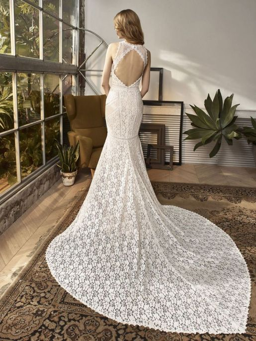 Wedding Dress by Enzoani // Alicia Vikander Wedding Ideas // SHEER EVER AFTER WEDDINGS