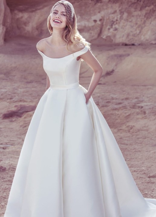 Wedding Dress by Ellis Bridal // Alicia Vikander Wedding Ideas // SHEER EVER AFTER WEDDINGS