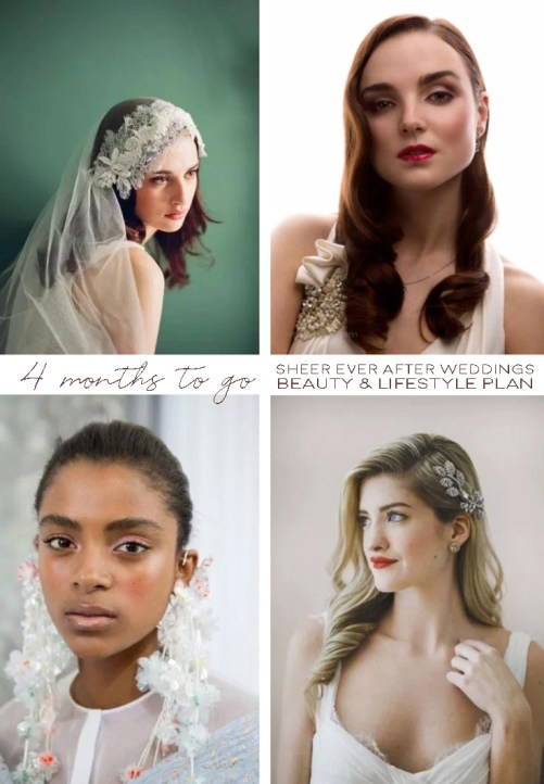 Wholesome Bridal Beauty + Lifestyle Timeline... | Sheer Ever After Bridal Inspiration | Follow Us at bit.ly/Sheereverafter