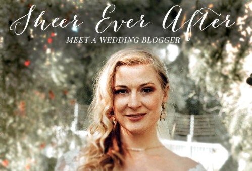 MEET A WEDDING BLOGGER