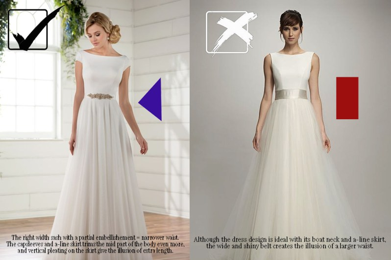 473e5fb605c These Wedding Dress Hacks Will Make You Look Skinny on Your Wedding ...
