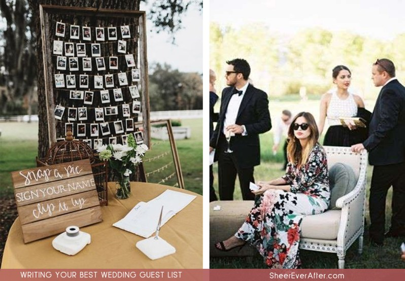 Everything you need to know to write the perfect guest list for your wedding