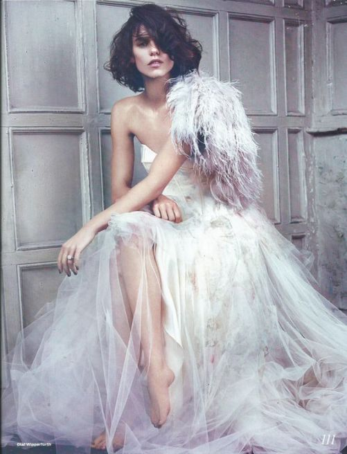 Be mesmerized by these radically beautiful Bridal fashion editorials that made our jaws drop | This and more at www. SheerEverAfter.com