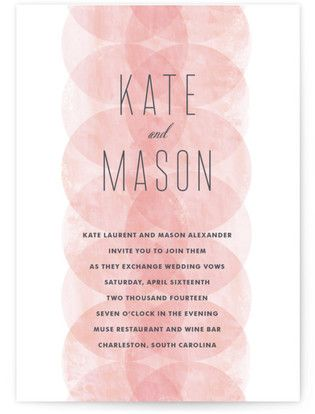 Gorgeous Invite Inspiration + 100% FREE Fashion Forward Fonts | Sheereverafter.com - Your online maid of honor