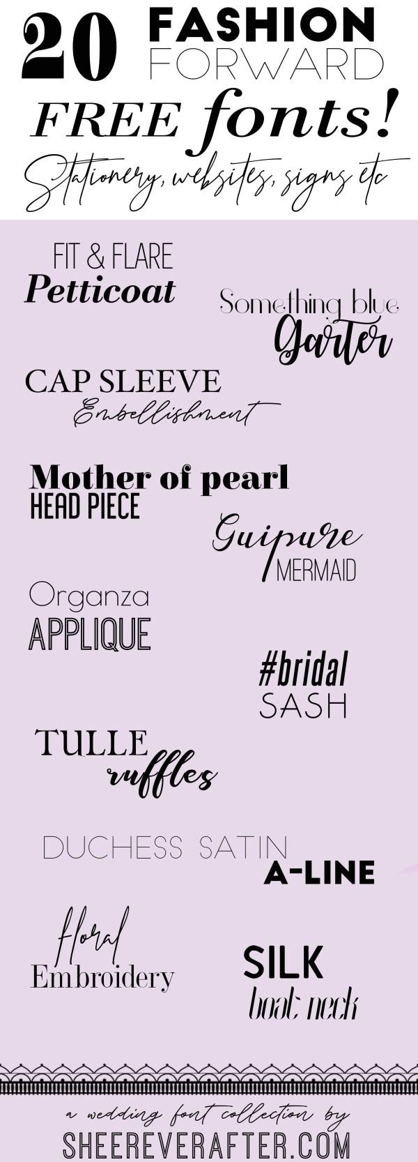 free wedding fonts # 84