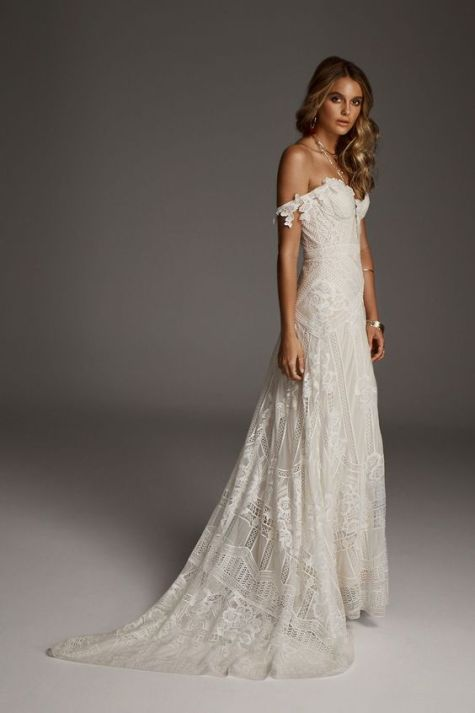 Rue de Seine boho beach wedding dress
