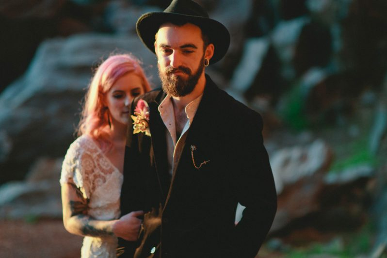 How to give your wedding a dose of attitude | SheerEverAfter.com | Your online maid of honor