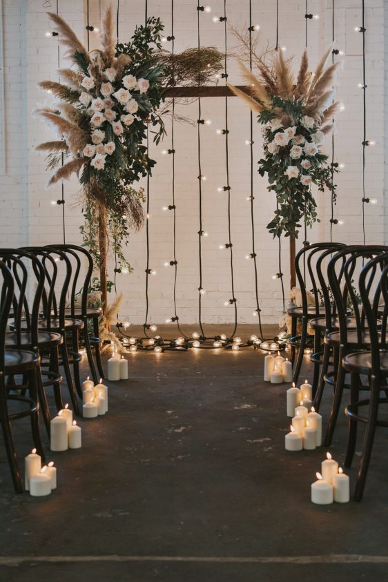 These pampas grass arrangements will make a statement on your wedding | SheerEverAfter.com | Your online maid of honor