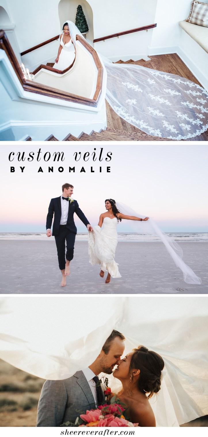 Custom veils by Anomalie   SheerEverAfter.com