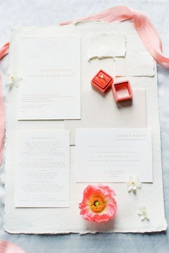 2019 wedding stationery trends | Sheer Ever After | Your online maid of honor