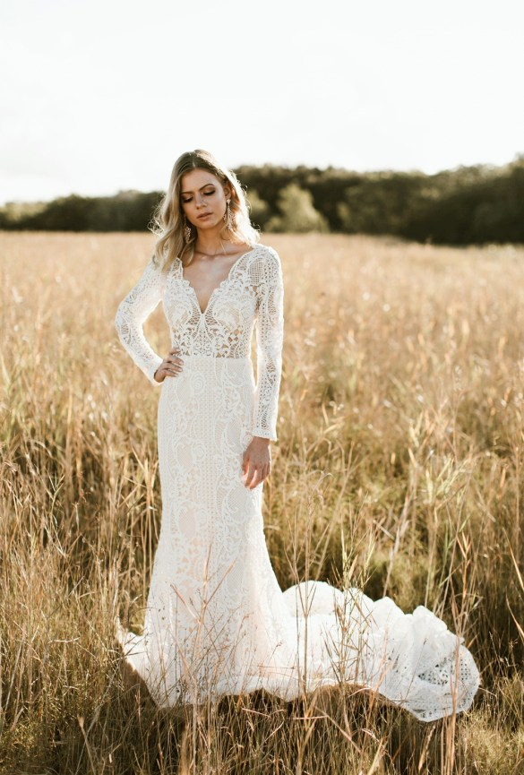 Amazing graphic lace wedding dresses | SheerEverAfter.com | Your online maid of honor