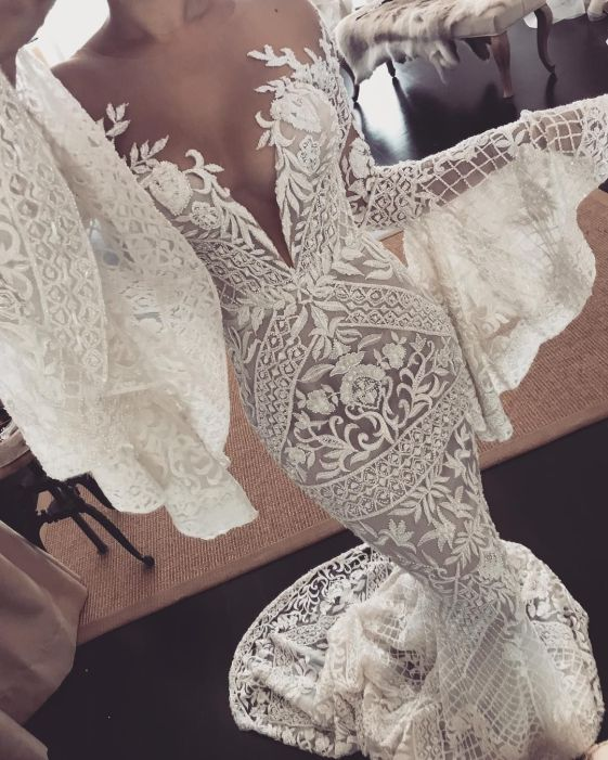 Amazing Graphic lace wedding dresses | Sheer Ever After | Your Online Maid of Honor