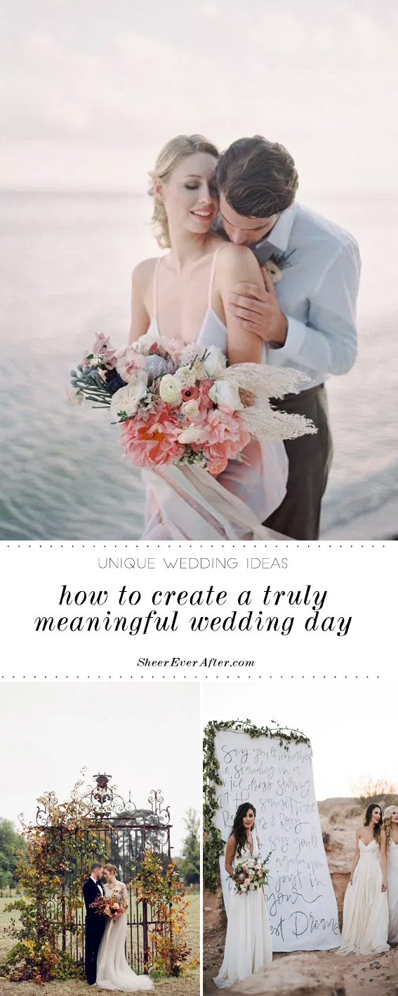 Planning a meaningful wedding | Sheer Ever After | Your Online Maid of Honor