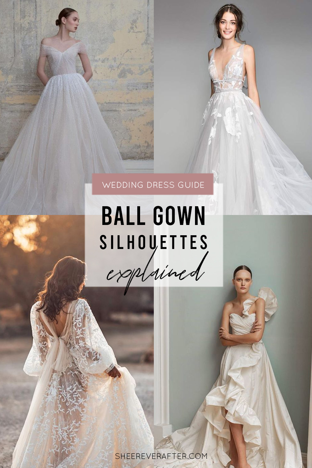 #weddingdress #weddingdresssilhouettes #bridalgown #bridal #weddingday #weddingideas #beautifuldress #ballgown