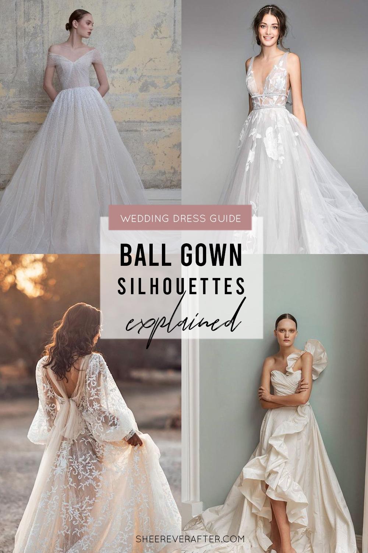 #weddingdress #weddingdresssilhouettes #bridalgown #bridal #weddingday #weddingideas #beautifuldress #ballgown