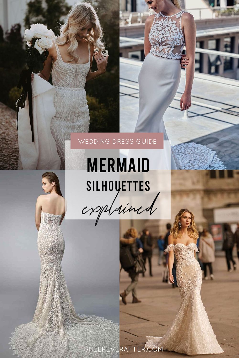 #weddingdress #weddingdresssilhouettes #bridalgown #bridal #weddingday #weddingideas #beautifuldress #mermaid