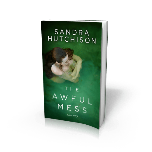 paperback edition of THE AWFUL MESS