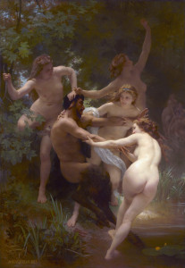 http://en.wikipedia.oNymphs and Satyr by William Adolphe Bouguereau