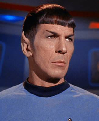 Spock from Star Trek (the original series)