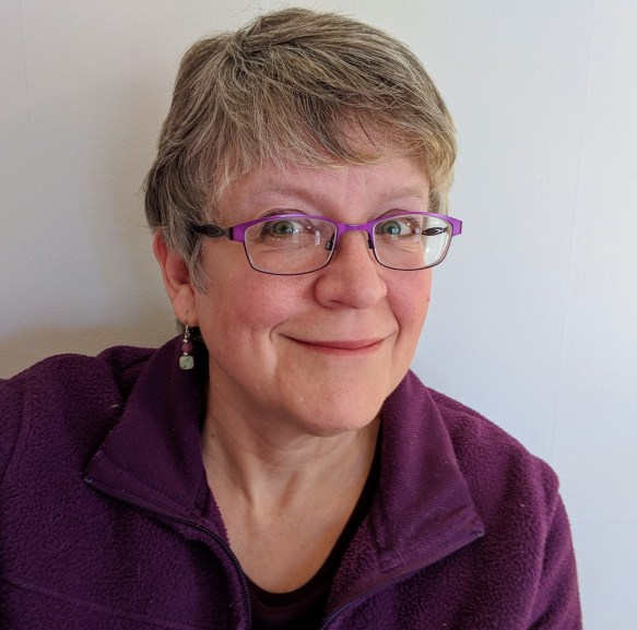 head shot of Sandra Hutchison