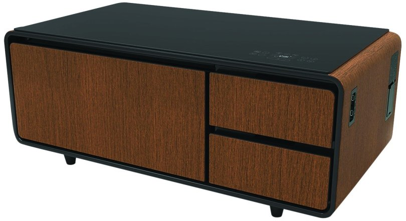Sobro Coffee Table with Refrigerator Drawer