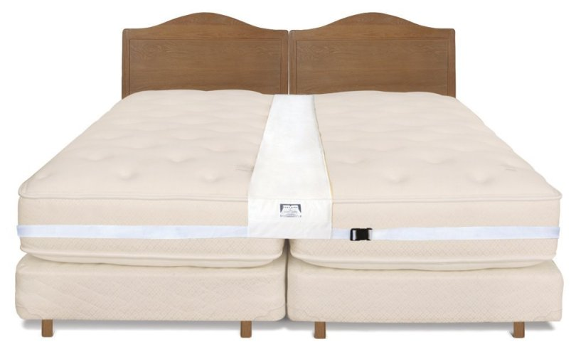 How to properly join to twin mattresses together.