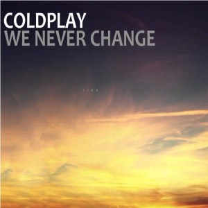 Download cold play we never change rock sheet music pdf