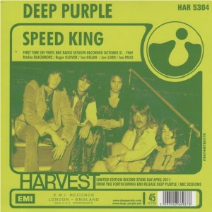 Download deep purple speed king rock sheet music pdf