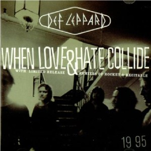 Download def leppard when love and hate collide rock sheet music pdf