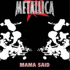 Download metallica mama said rock sheet music pdf