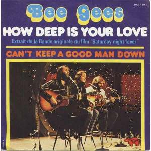 Download bee gees how deep is your love rock sheet music pdf