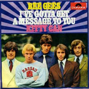 Download bee gees i have gotta get a message to you rock sheet music pdf