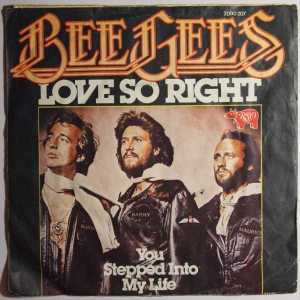 Download bee gees love so right rock sheet music pdf