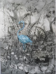 Anthea Stephenson - Sheffield flamingo