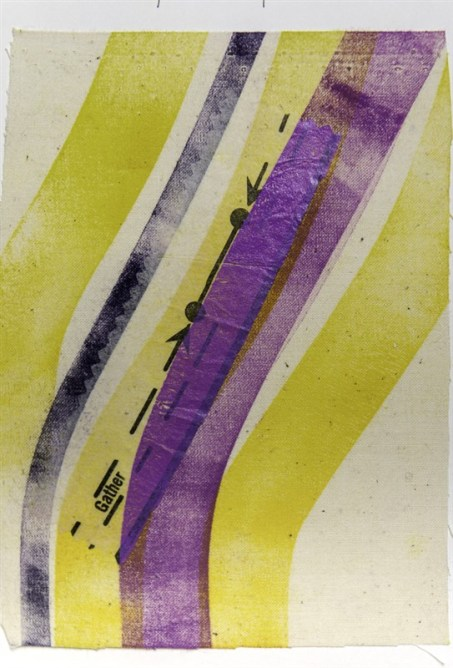 Yellow and Purple Dress Map