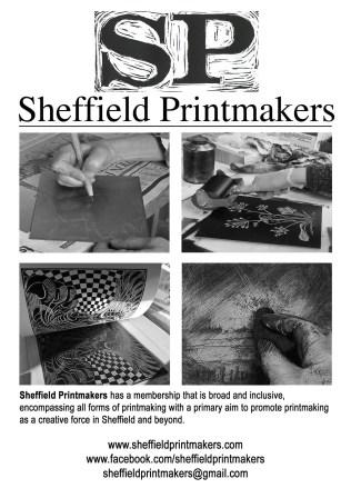 Sheffield Printmakers Flyer 2016-2017