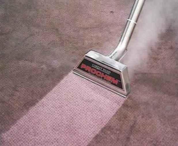 تنظيف السجاد على الناشف