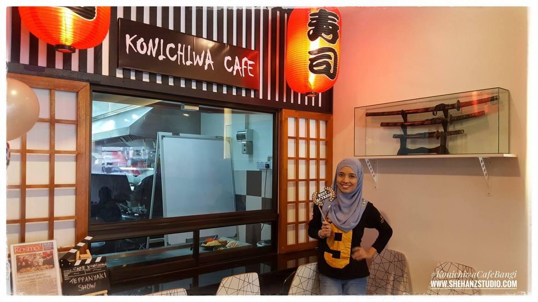 RESTORAN MAKANAN JEPUN HALAL DI BANGI – KONICHIWA CAFE