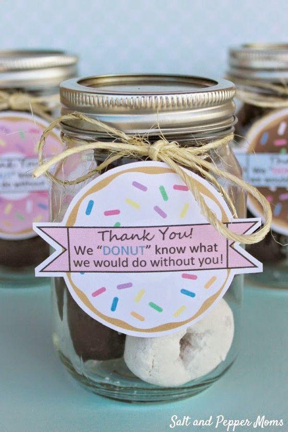 idea hadiah hari guru 2017 - cookie donut