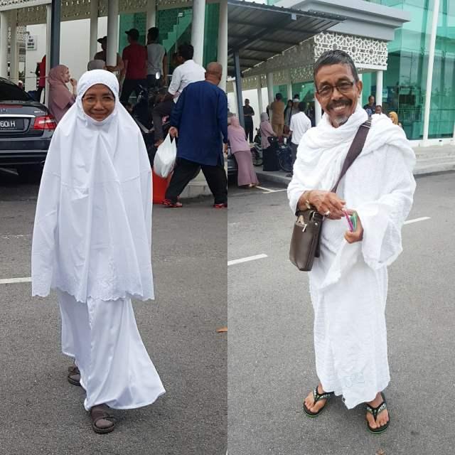mak abah pergi haji