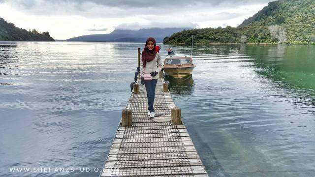 KEMBARA #KBBA9 COSMODERM - IKHLAS TOURS KE NEW ZEALAND BLUE LAKE, TARAWERA, AGRODOME AT ROTORUA (SPRING TIME) (PART 5) (5)