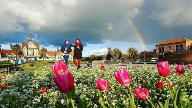 KEMBARA #KBBA9 COSMODERM - IKHLAS TOURS KE NEW ZEALAND   TEMPAT MENARIK DI ROTORUA (SPRING TIME) (PART 4)