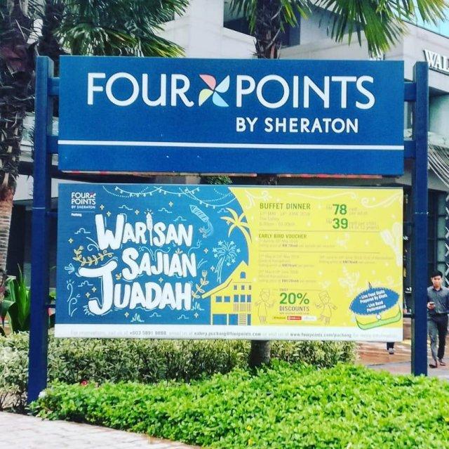 TERUJA DENGAN WARISAN SAJIAN JUADAH DI FOUR POINTS BY SHERATON PUCHONG (16)