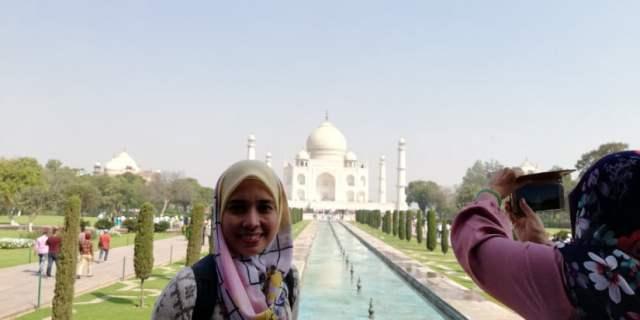 TRIP INDIA CANTIKNYA TAJ MAHAL (107)